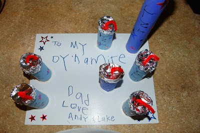 To My Dynamite Dad