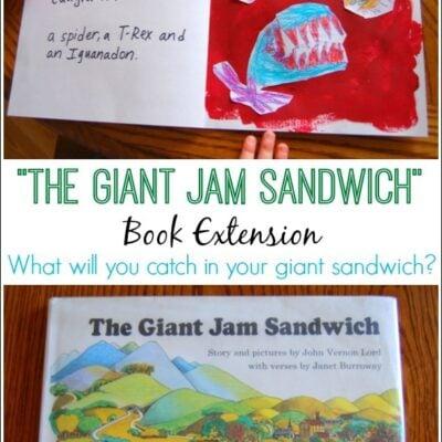 The Giant Jam Sandwich Craft