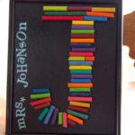 Teacher Gift & My Very First Refashion…