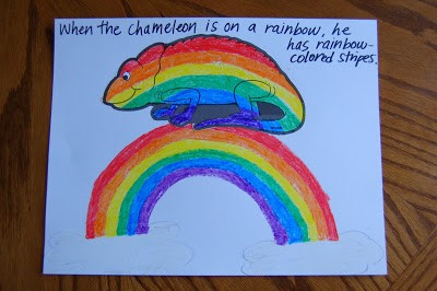 """Story Time """"A Color of His Own"""" & Chameleon Craft"""