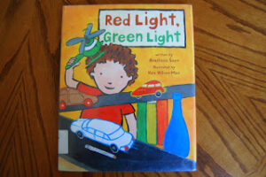"Story Time ""Red Light, Green Light"" with activities (sorting, patterns, charting & name practice)"