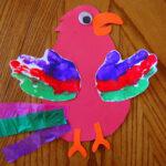 Pretty Parrot Craft