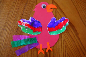 Pretty Parrot Craft