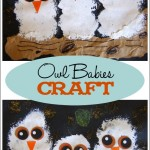 """Owl Babies"" Craft"