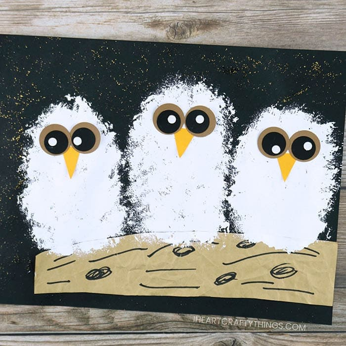 How to Make an Owl Babies Craft | I Heart Crafty Things