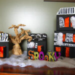 Haunted House Display