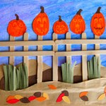 """Five Little Pumpkins"" Craft"