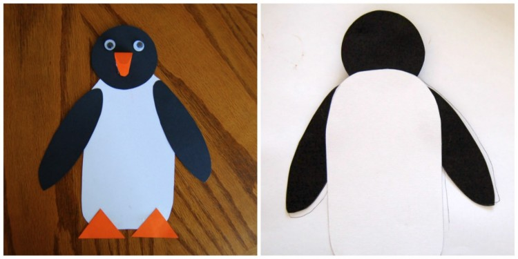 Tacky the Penguin Craft | I Heart Crafty Things