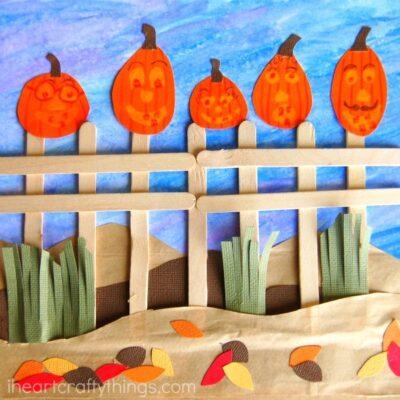 Five Little Pumpkins Craft Kids will Love