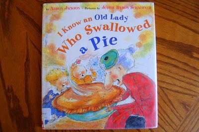 There Was an Old Lady Who Swallowed a Pie
