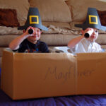 Thanksgiving Reenactment and Indian Corn Craft