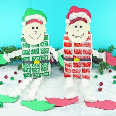 The Cutest Elf Craft you ever did see….