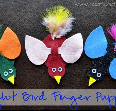 Bright Bird Finger Puppets
