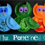 Colorful Patterned Owls