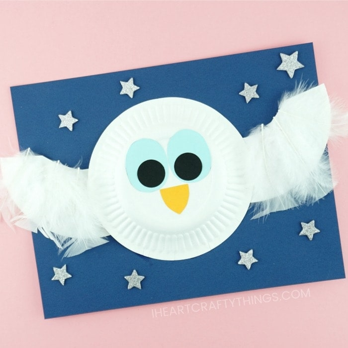 The story inspired us to make The Little White Owl Craft made simple with paper plates. Fun book inspired preschool craft and paper plate crafts.