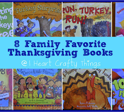 8 Family Favorite Thanksgiving Books