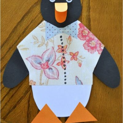 Tacky the Penguin Craft with Pattern