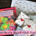 Valentine's Sight Word Practice