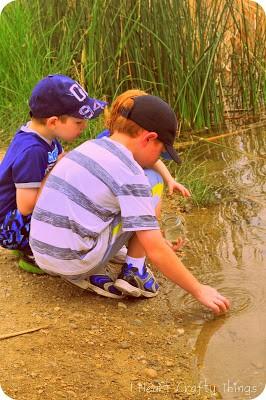 Pond Walk Scavenger Hunt