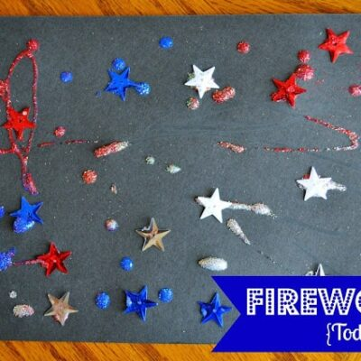 Fireworks {Toddler-Style}