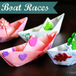 "Paper Boat Races (with a free ""sink or float"" worksheet)"