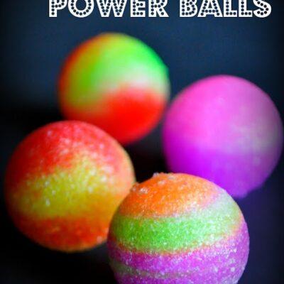 Glow in the Dark Power Balls (Giveaway)