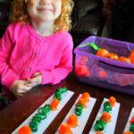 Pumpkin Pattern Worksheet (for Sensory Bin)