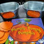 Plumply, Dumply Pumpkin (Pumpkin Hunt and Sorting Activity)
