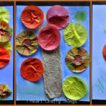 Fall Cupcake Liner Tree Craft