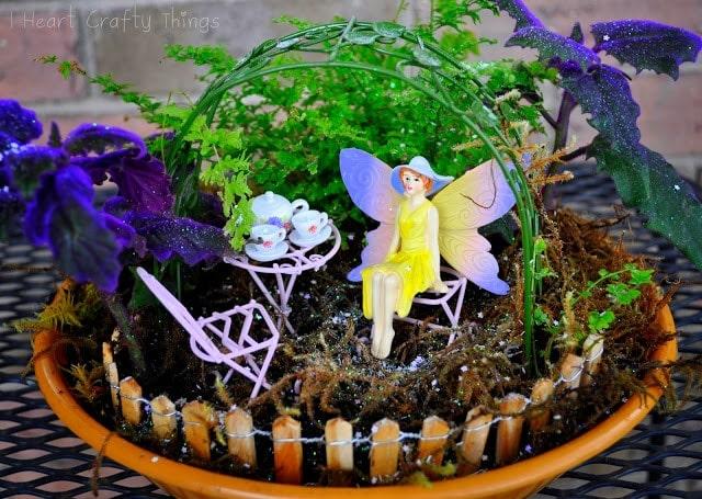 Create your own fairy tea garden i heart crafty things for Design my own garden