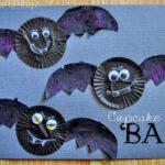 Cupcake Liner Bats
