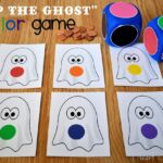 """Slap the Ghost"" Halloween Color Game"
