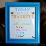 Thankful Writing Prompt Family Activity