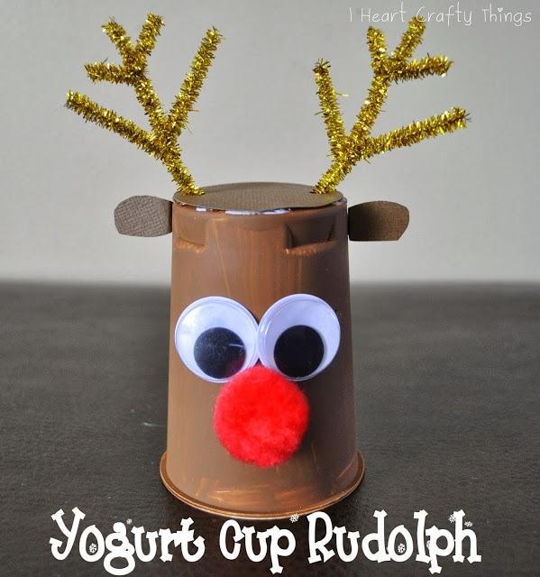 valentine's day meme for kids - Rudolph Reindeer Craft