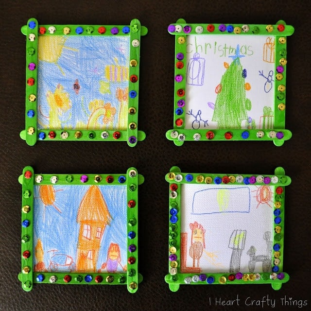 Homemade grandparent christmas gift from kids i heart for Crafts for kids to make as gifts