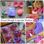 Foam Dough Cupcake Making Station (Invitation to Play)