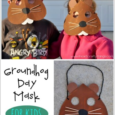 Groundhog Day Mask Craft