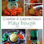 Create a Leprechaun Playdough (Invitation to Play)