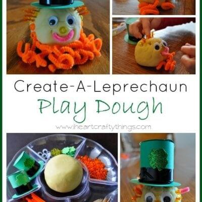 Create a Leprechaun Playdough (Invitation to Play)