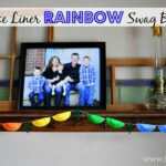 Rainbow Swag Bunting…Made from Cupcake Liners!