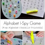 Alphabet I-Spy Game
