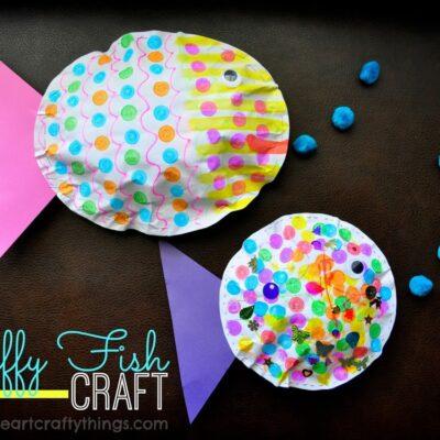 Puffy Fish Kids Craft