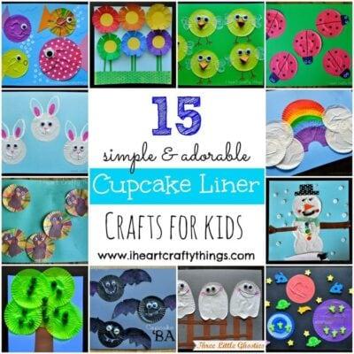 15 Cupcake Liner Crafts for Kids