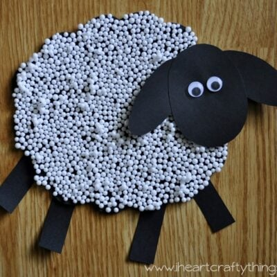 Sheep Craft for Kids