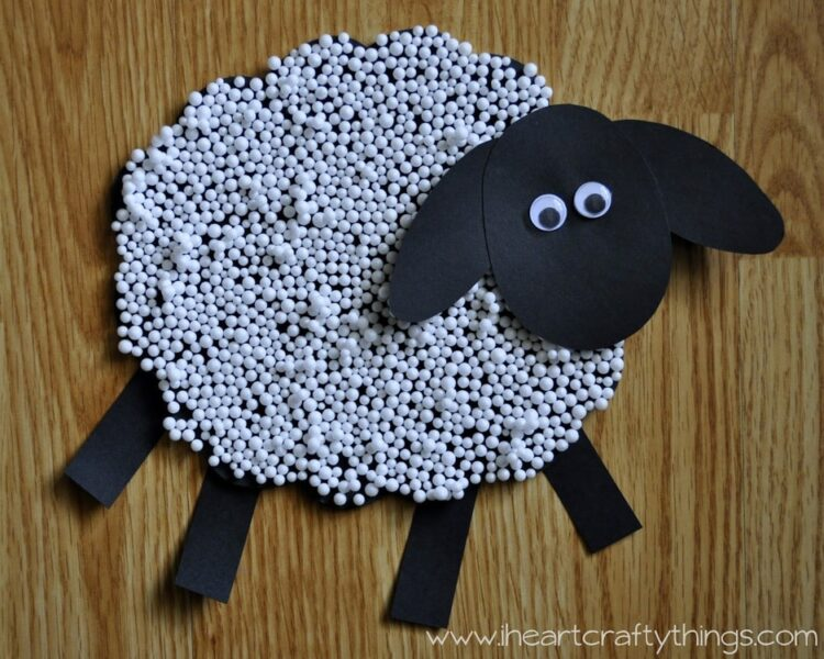 Sheep Craft for Kids & Sheep Craft for Kids | I Heart Crafty Things