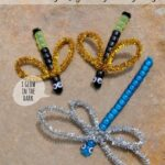 Beaded Dragonfly & Lightning Bugs