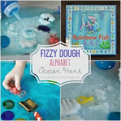 Fizzy Dough Alphabet Ocean Hunt
