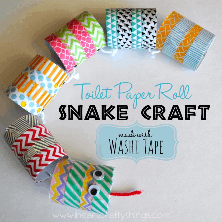 St Patrick S Day Snake Craft