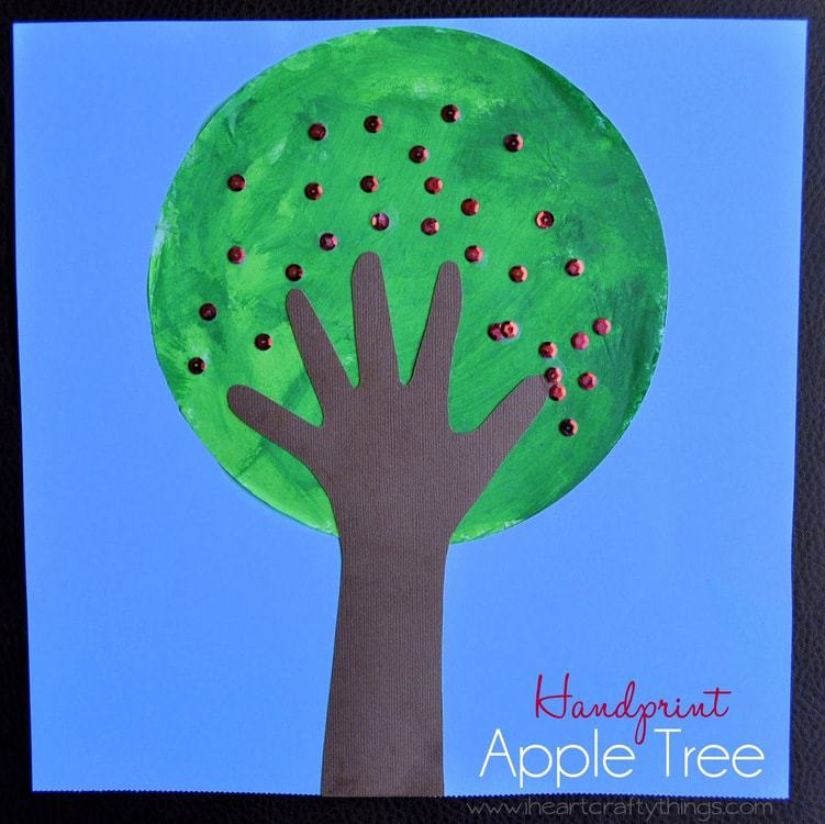 15 Fabulous Apple Tree Crafts I Heart Crafty Things