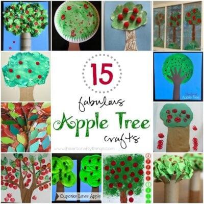 15 Fabulous Apple Tree Crafts